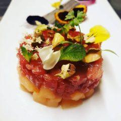 tartara di tonno e melone